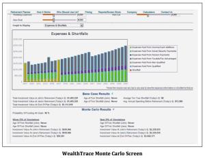 WT Monte Carlo Screenshot