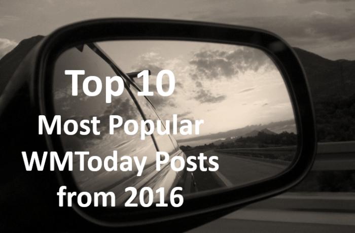 top ten WMToday posts