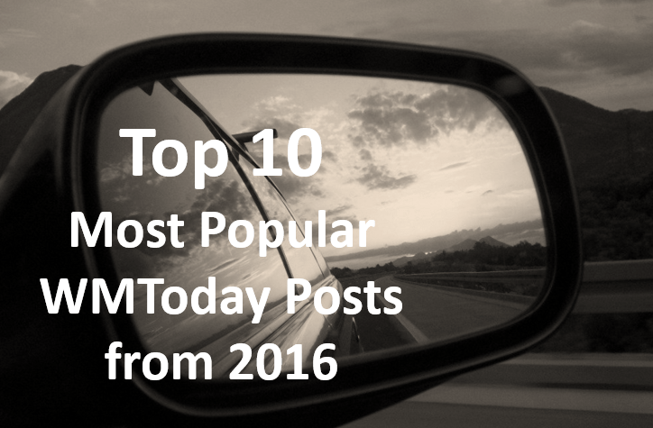 The Top 10 WMToday Posts from 2016
