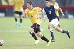 George Campbell scored his first collegiate goal on Saturday to help lift the Terps past Santa Clara 3-1. (Courtesy of UMTerps.com)