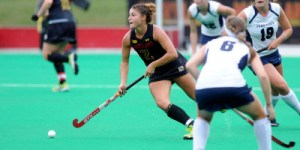 Maxine Fluharty led the Terps with three goals. (Courtesy of UMTerps.com)