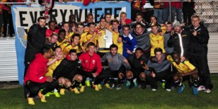 The Terps capture their first Big Ten title. (Courtesy of UMTerps.com)