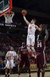 Jake Layman added 12 points for the Terps with four rebounds. (Courtesy of UMTerps.com)