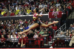 2,207 packed the Xfinity Center for the Terps annual Pride meet. (Courtesy of UMTerps.com)