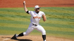 Mike Shawaryn proves he is the Terps ace leading Maryland to another victory. (Courtesy of UMTerps.com)
