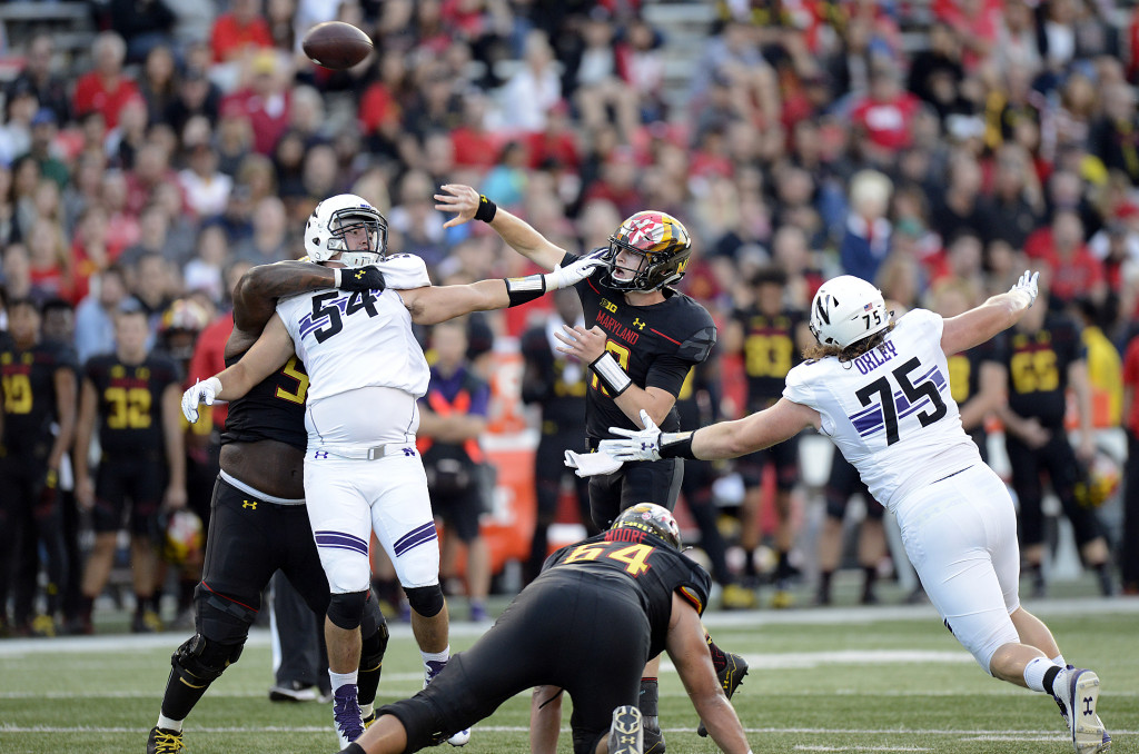 Maryland unable to convert on timely takeaways in loss to Northwestern