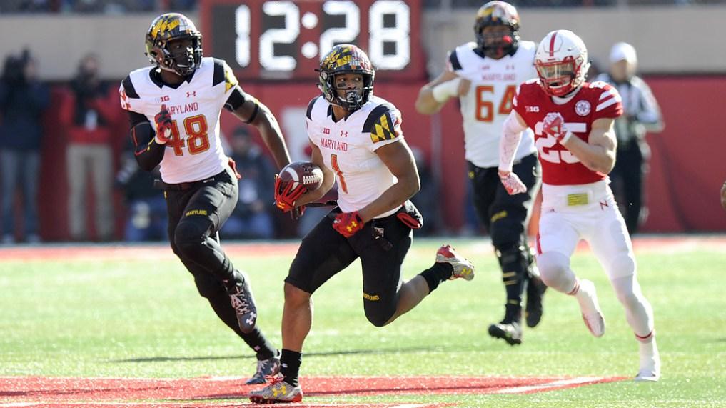 Northwestern dominates Maryland, despite D.J. Moore's career afternoon