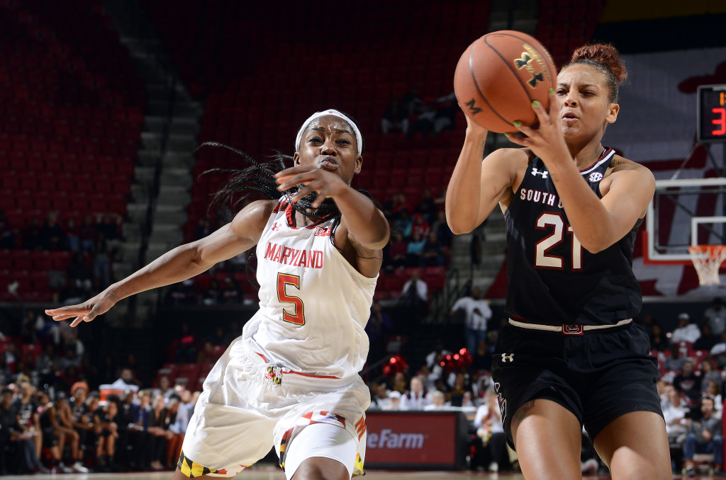 Maryland women can't catch defending champion SC