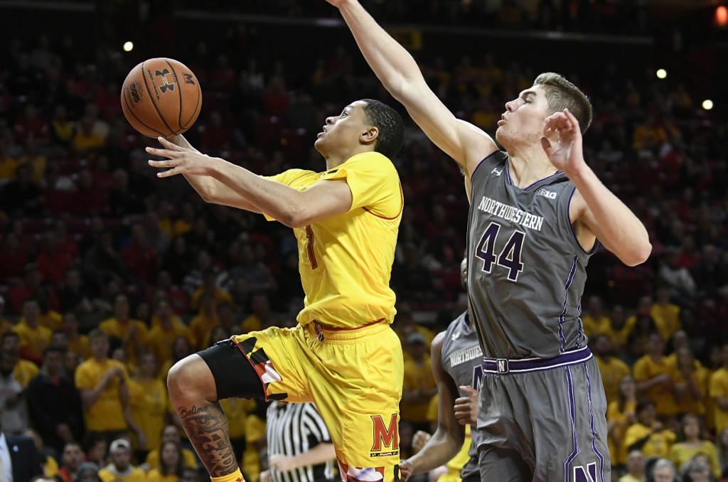 Maryland dominates Northwestern in wire-to-wire victory