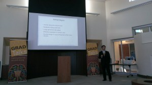 Tiantian Zhang discusses his research in biochemistry