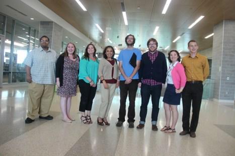 GSTI grad students receive their certificates