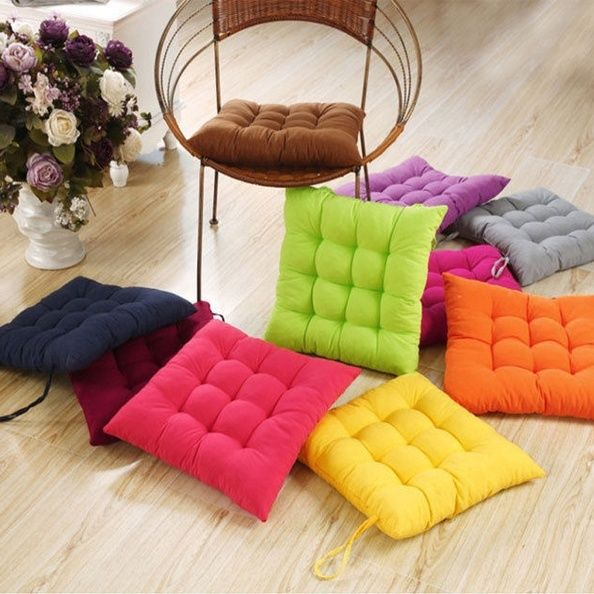 sofa pads uk high quality inexpensive soft seat pillow cushions chair pad outdoor home room car image is loading