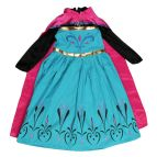 Elsa Coronation Dress Costume for Girls