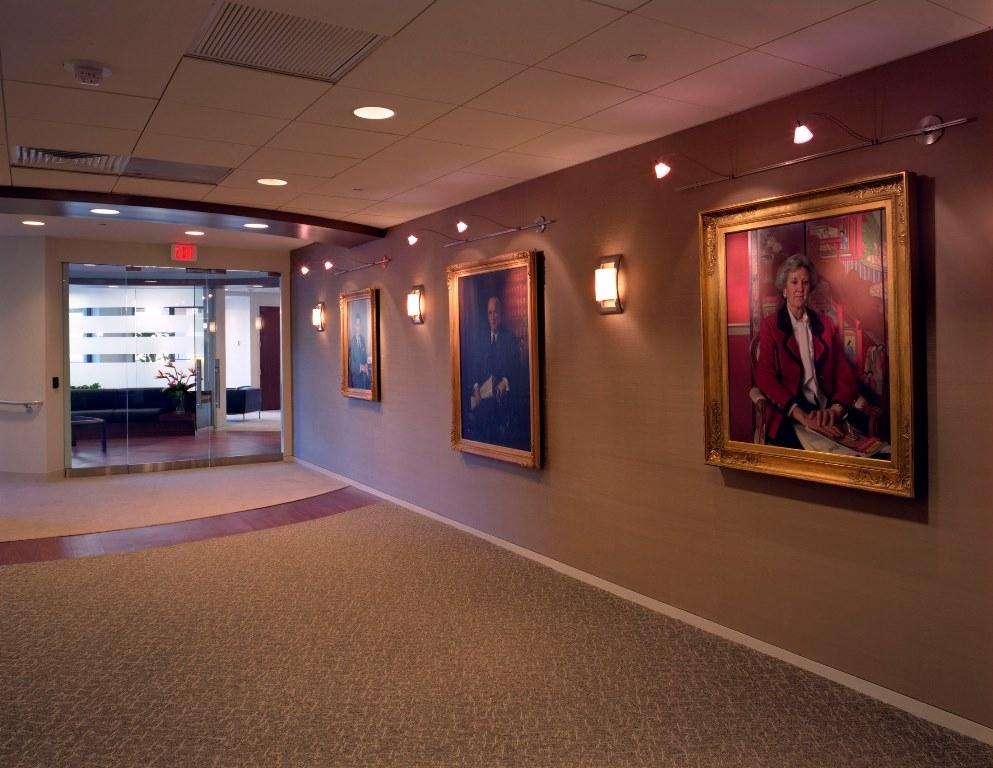 Executive area entrance