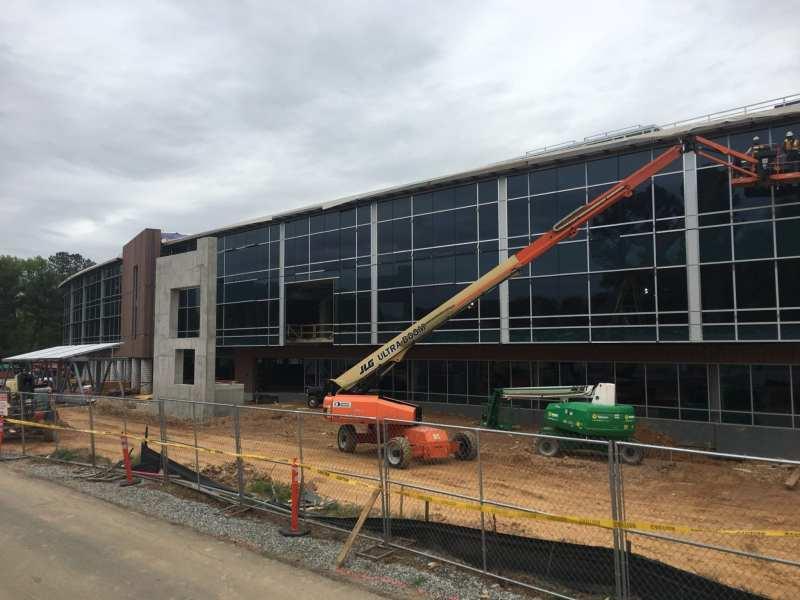 Amazing Progress at the NFCU Campus Development