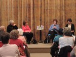 (Left to Right) Estelle Parsons, Lynne Sharon Schwartz, Hilma Wolitzer, Rosalind Reisner