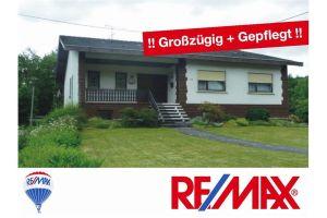 Nonnweiler-Kastel: JEDE Menge PLATZ - Einfamilienhaus mit Einliegerwohnung...! mehr Infos