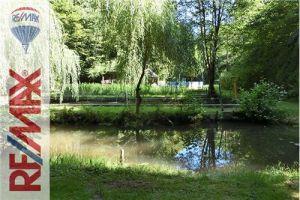 Gehweiler: Wald, Wasser, Grün, Erlebniswelt - Weiheranlage mit Wochenendhaus - 52.300 € - mehr Infos