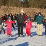 Eisfläche am Bostalsee sorgt für winterlichen Spaß