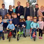 Fahrräder für die Kindertagesstätte Selbach