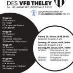 31. Hallenturnier des VfB Theley startet heute