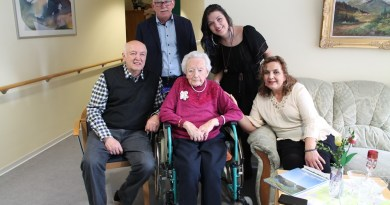 Helene Loch feiert 100. Geburtstag