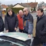 Bürgermeister Weber macht sich für Radweg  zwischen Alsweiler und Tholey stark