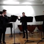 Querflöten-Trio der Kreismusikschule erhält Stipendium