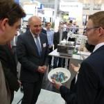 Wissenschaftsminister Wolf besucht Umwelt-Campus auf der Hannovermesse – der Leitmesse der Industrie