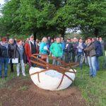 Schaumberg: 3. Gipfelkunstausstellung am Herzweg wurde eröffnet