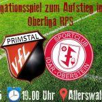 VfL Primstal in der Relegation um Oberligaaufstieg – Idar-Oberstein zu Gast