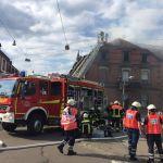 St. Wendel: Großeinsatz der Feuerwehr nach Dachstuhlbrand