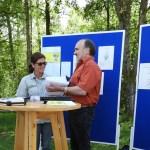 Nationalpark für blinde und sehbehinderte Menschen