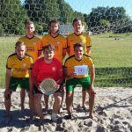 Sandmänner aus Primstal sind Beachsoccer-Saarlandmeister