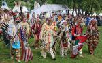 Gute Stimmung beim 13. Indianer Powwow am Bostalsee