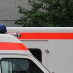 St. Wendel: Rettungswagen gestreift und weggefahren
