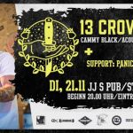 St. Wendel: 13 Crowes – Punk-Rock n' Roll aus Schottland in JJs Pub