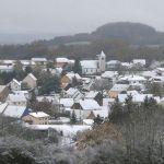Wintereinbruch im St. Wendeler Land