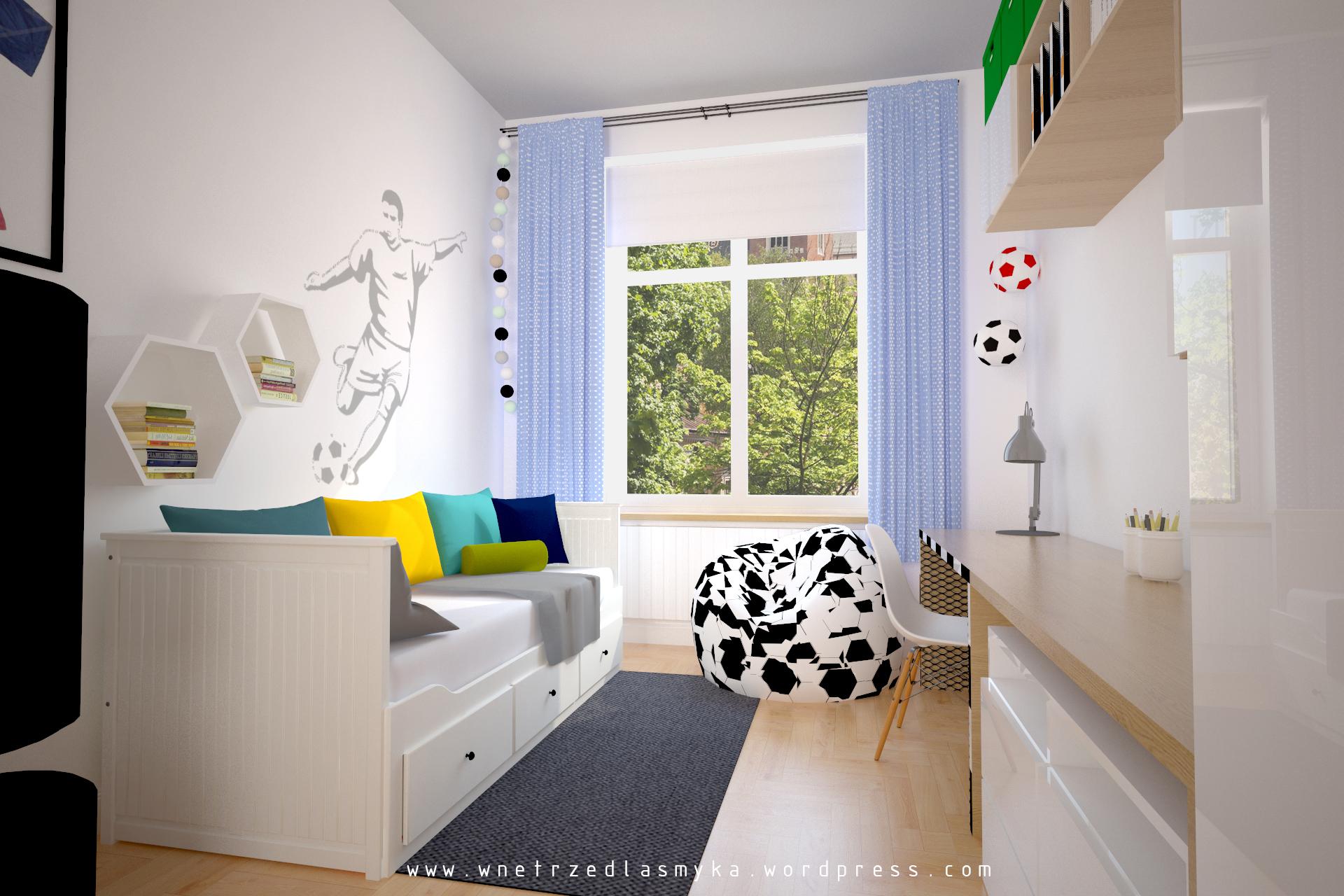 Pokój małego piłkarza Wnętrze dla Smyka