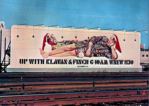 Klaven and Finch Billboard