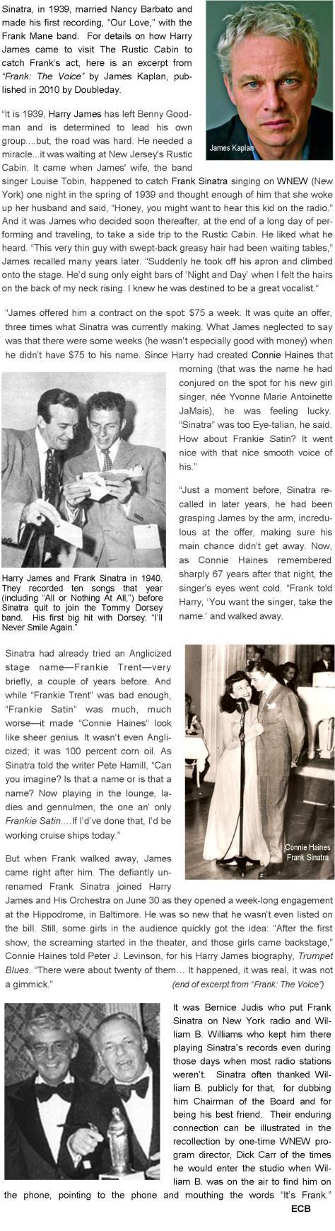 Sinatra WNEW Hoboken Four-Harry James final