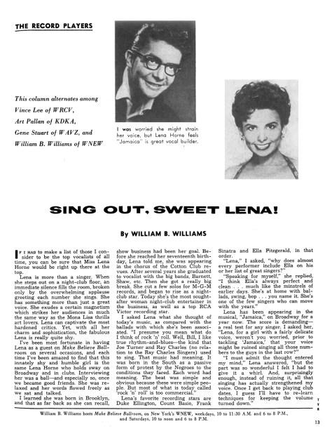 WBW-Lena Horne-TV Radio Mirror 3-2-14 flat