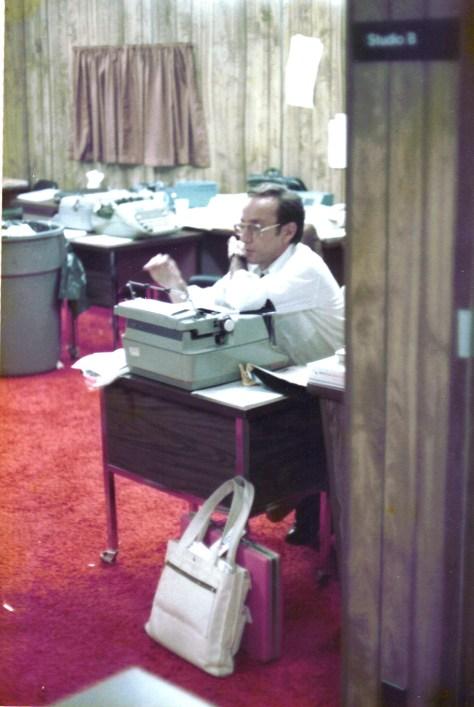 NBC's Edward Brown GOP Nat'l Conv., KC, MO, 1976