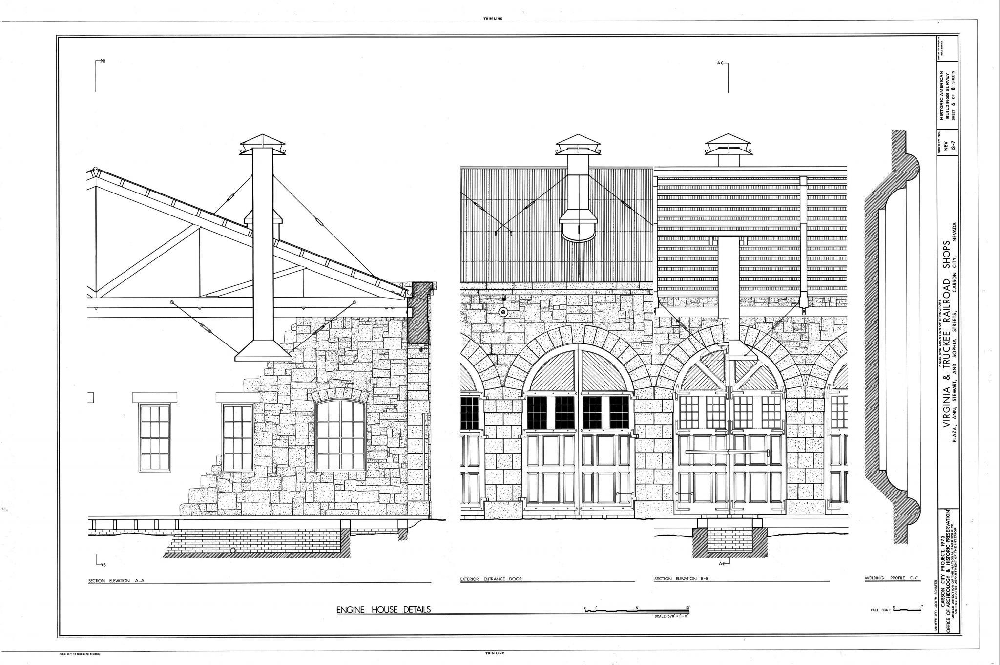 V&T Shops Engineering Drawing : Photo Details :: The