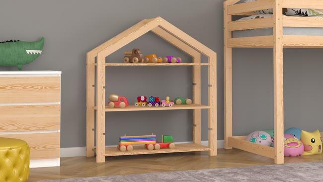 etagere pour jouets cabane buffy 100 cm