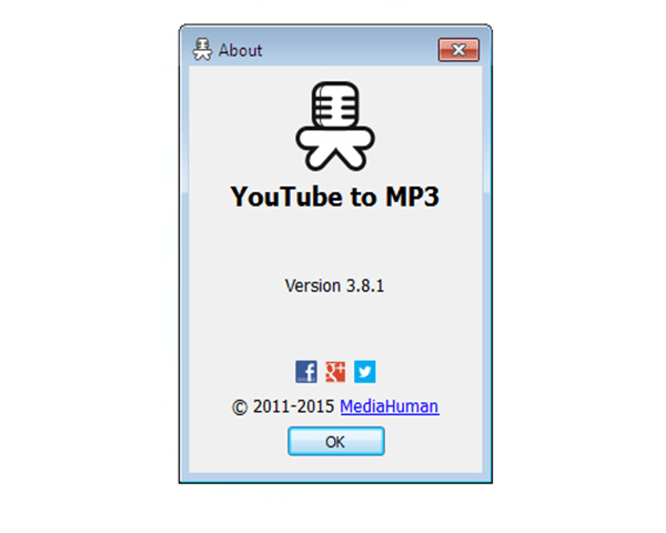 Images MediaHuman YouTube to MP3