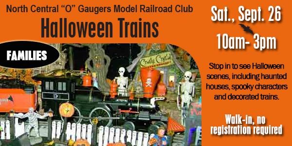 Halloween Trains