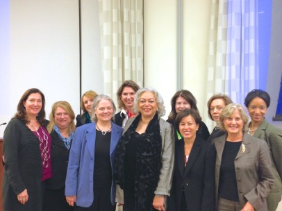 WNSF Board Members at 2013 Summit (Not Shown: Michele Kahane)