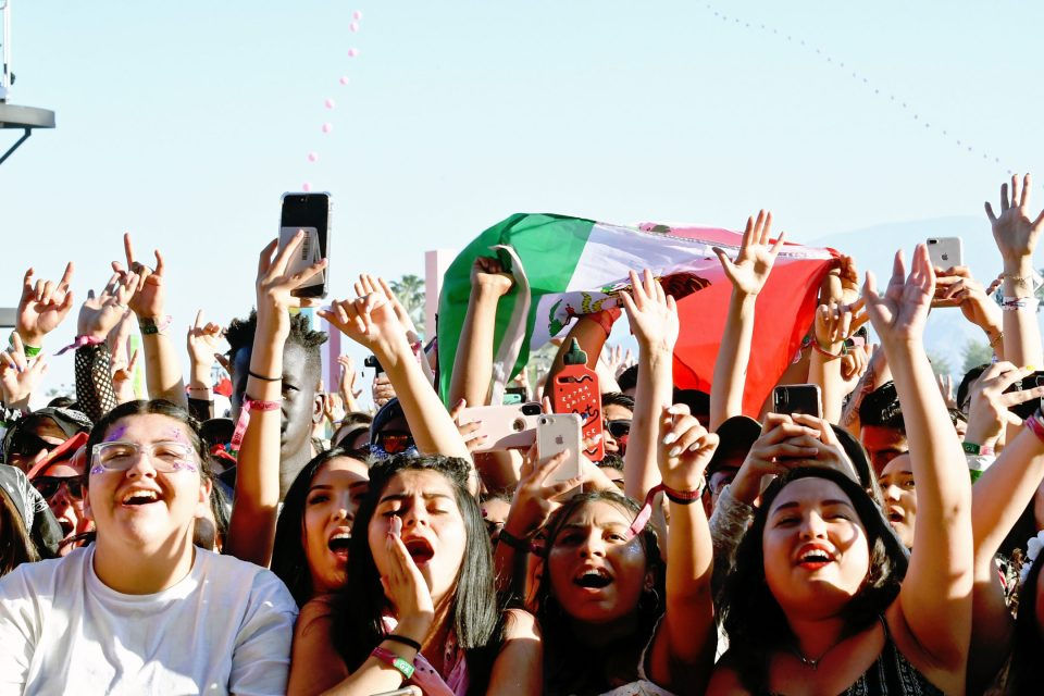 fans at Coachella in 2019