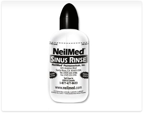 FREE NeilMed Sinus Rinse With Two Mixture Packets